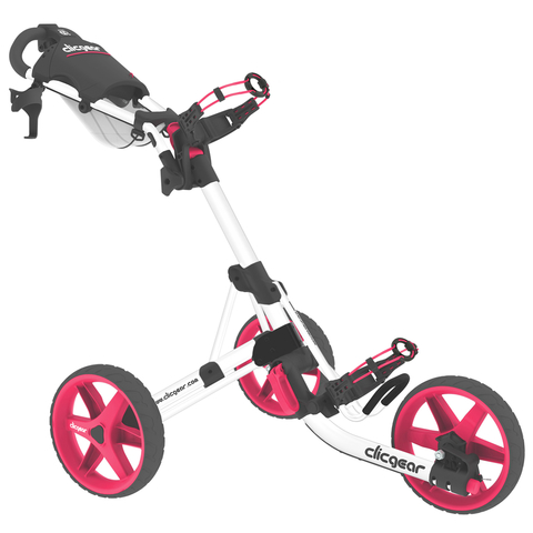 Clicgear 3.5+ 3-Wheel Push Golf Trolley