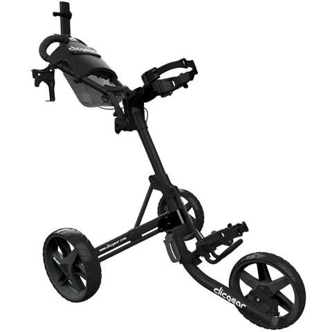 Clicgear 4.0 3-Wheel Push Golf Trolley Black