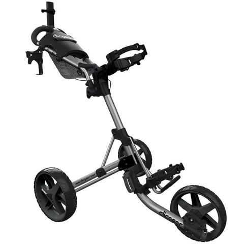 Clicgear 4.0 3-Wheel Push Golf Trolley Silver