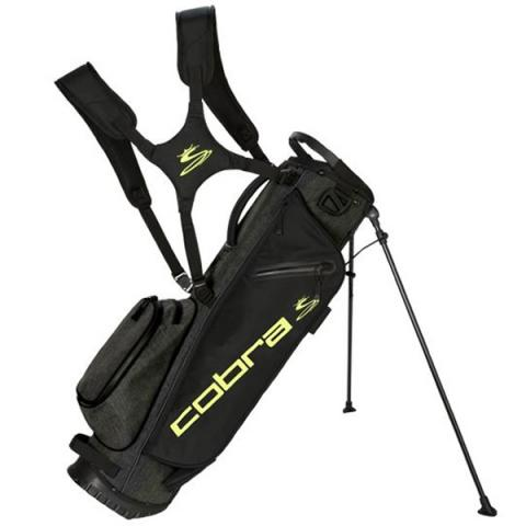 Cobra 2021 Ultralite Sunday Golf Stand Bag Black/Yellow