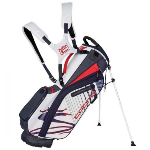 Cobra 2021 Ultralight Golf Stand Bag Peacoat/High Risk Red/White