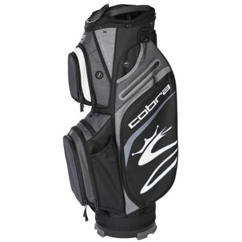 Cobra 2021 Ultralight Golf Cart Bag Black