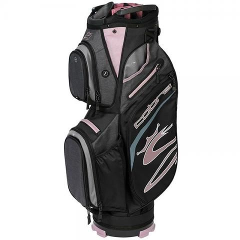 Cobra 2021 Ultralight Golf Cart Bag Black/Elderberry