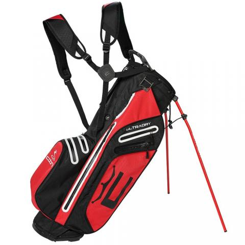 Cobra 2021 Ultradry Pro Waterproof Golf Stand Bag Black/High Risk Red