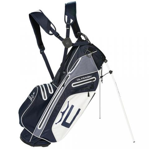 Cobra 2021 Ultradry Pro Waterproof Golf Stand Bag Black/White