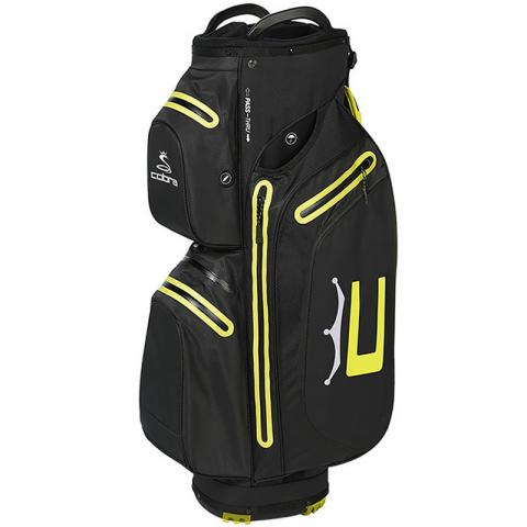 Cobra 2021 Ultradry Pro Waterproof Golf Cart Bag Black/Yellow