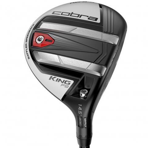 Cobra KING F9 Speedback Golf Fairway Satin Black/Avalanche Mens / Right Handed