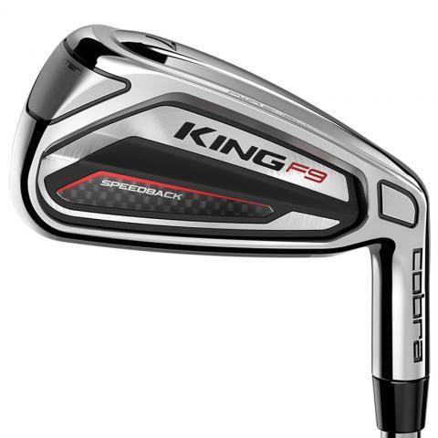 Cobra KING F9 Golf Irons Steel