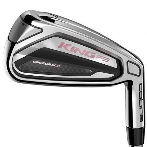 Cobra KING F9 Ladies Golf Irons Graphite Ladies / Right Handed