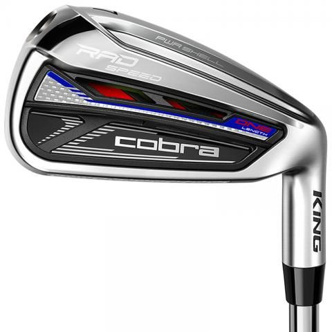 Cobra Radspeed One Length Golf Irons Steel Mens / Right or Left Handed
