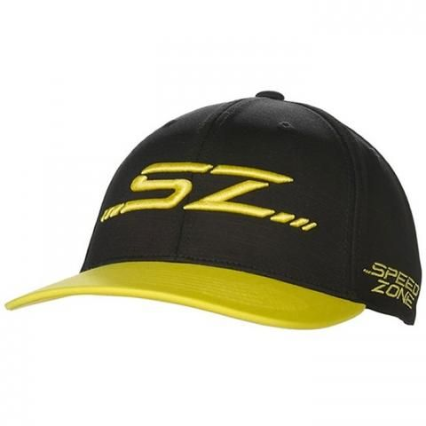 Cobra Speedzone 110 Snapback Baseball Cap Black/Yellow