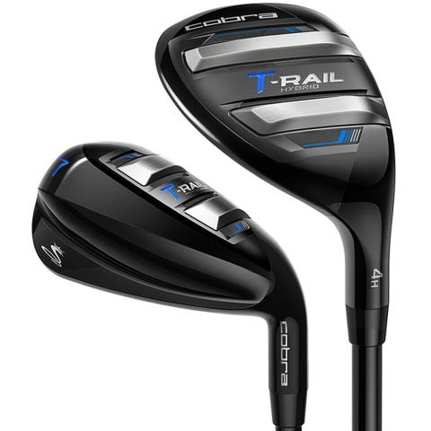 Cobra T-Rail Golf Iron/Hybrid Combo Set Steel