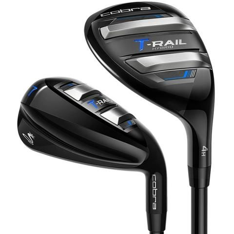 Cobra T-Rail Golf Iron/Hybrid Combo Set Graphite