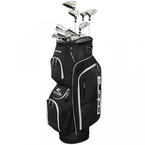 Cobra XL Speed Mens Golf Package Set Graphite