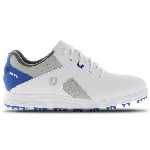 FootJoy Junior Golf Shoes #45029 White/Blue/Grey