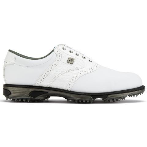FootJoy DryJoys Tour Golf Shoes #53700 White/White Croc