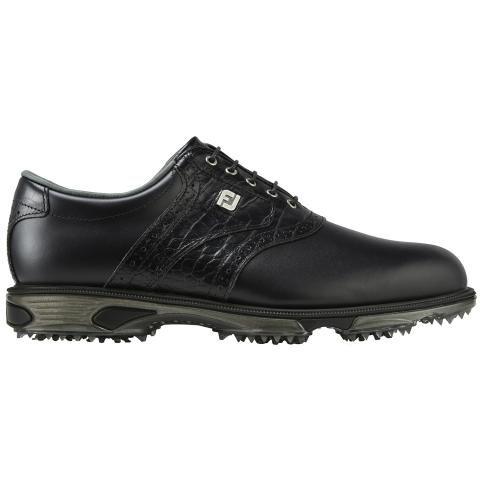 FootJoy DryJoys Tour Golf Shoes #53717 Black/Black Croc