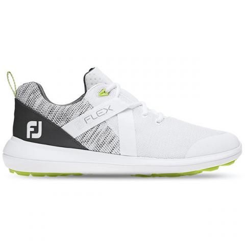 FootJoy FJ Flex Golf Shoes #56101 White/Grey