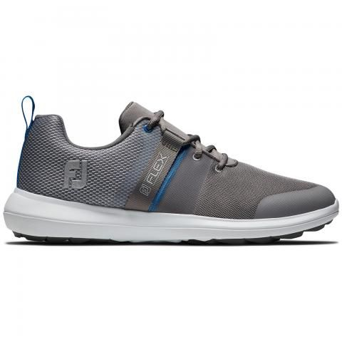 FootJoy FJ Flex Golf Shoes #56121 Grey/Blue