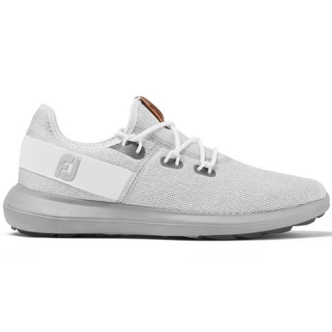 FootJoy Flex Coastal Golf Shoes #56131 White/Grey