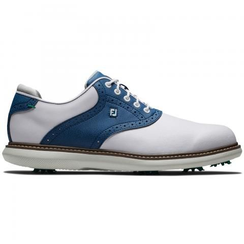 FootJoy Traditions Golf Shoes #57901 White/Navy