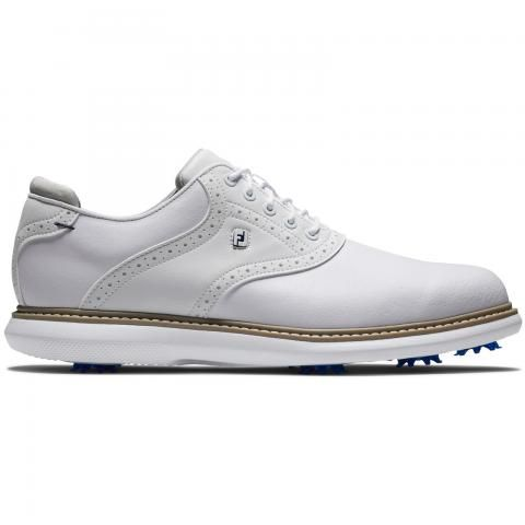 FootJoy Traditions Golf Shoes #57903 White/White