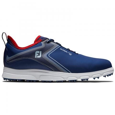 FootJoy SuperLites XP Golf Shoes #58080 Navy/White/Red