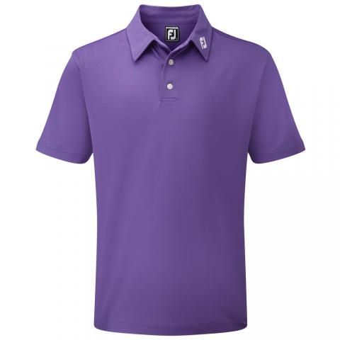 FootJoy Stretch Pique Solid Polo Shirt Purple 91820