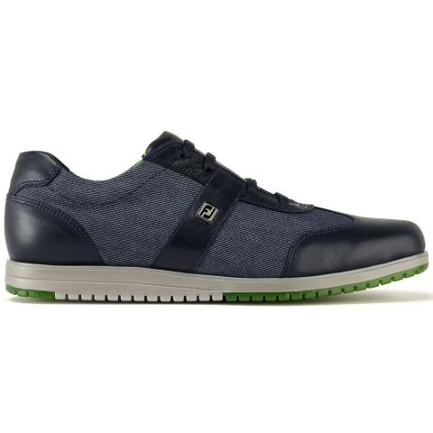 FootJoy Casual Collection Ladies Golf Shoes #97718 Midnight/Denim Fabric