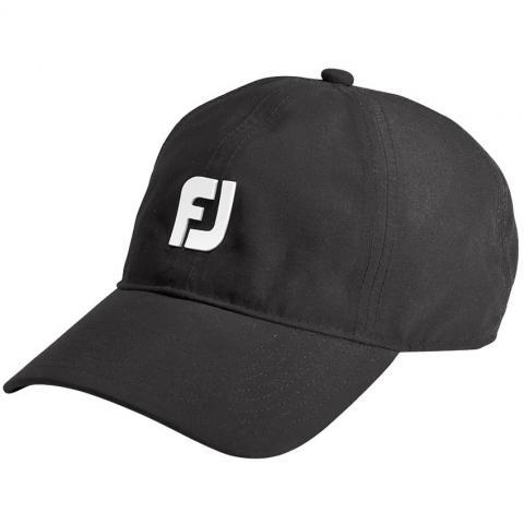 FootJoy DryJoys Waterproof Baseball Cap Black