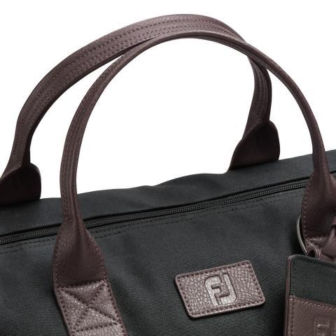 d059b13632 FootJoy Canvas Duffel Bag Black