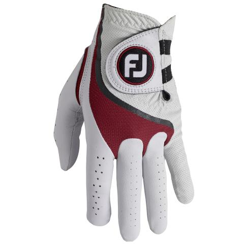 FootJoy ProFLX Golf Glove Right Handed Golfer / White/Red