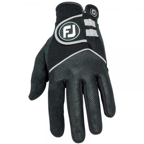 FootJoy Rain Grip Waterproof Golf Gloves Pair / Black