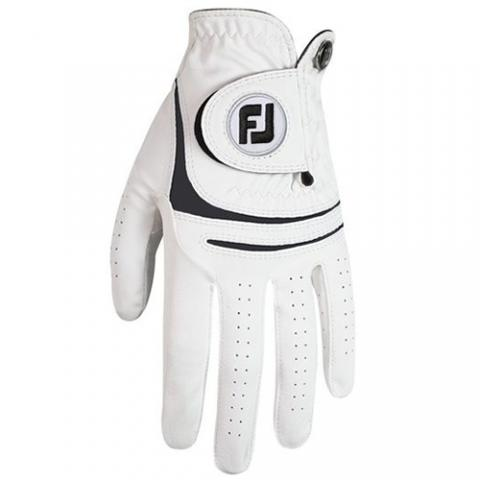 FootJoy WeatherSof Ladies Golf Glove Right Handed Golfer / White/Black