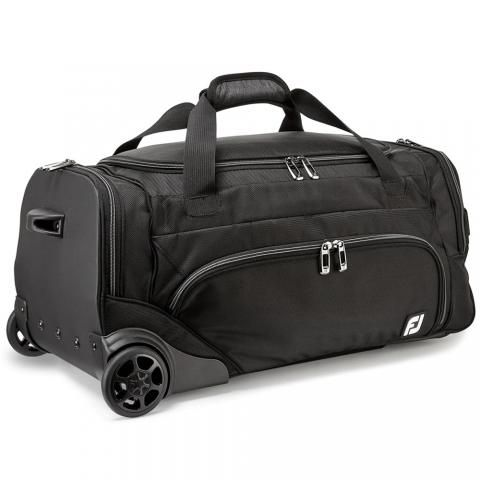 FootJoy Wheeled Duffel Bag Black