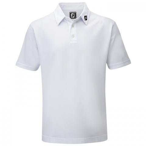 FootJoy Stretch Pique Solid Polo Shirt White 91823