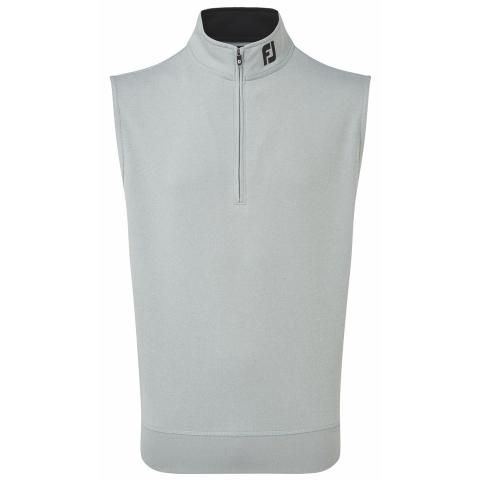 FootJoy Chill Out Zip Neck Vest Heather Grey 90154