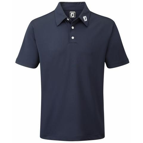 FootJoy Stretch Pique Solid Polo Shirt Navy 91824