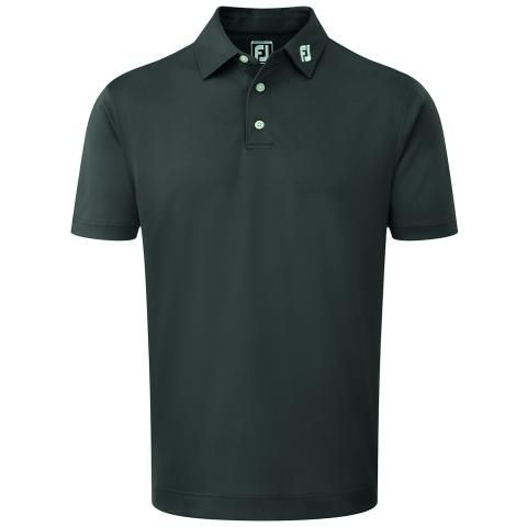 FootJoy Stretch Pique Solid Polo Shirt Charcoal 92420