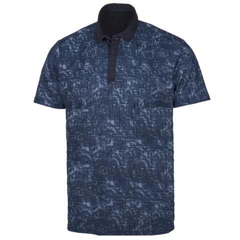 Galvin Green Morris Ventil8 Plus Polo Shirt Navy/Dark Denim