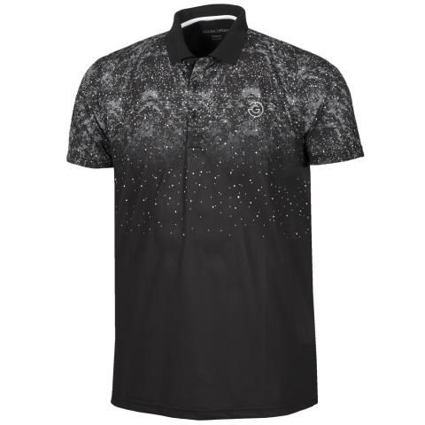 Galvin Green Mason Ventil8 Plus Polo Shirt Black/Sharkskin