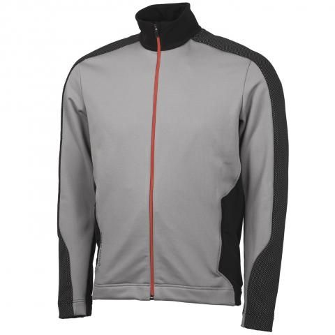 Galvin Green Dirk Insula Jacket Sharkskin/Black/Red Orange