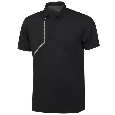 Galvin Green Merlin Ventil8 Plus Polo Shirt Black/White