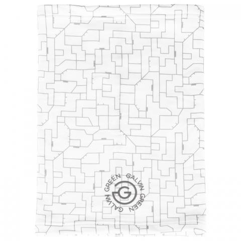 Galvin Green Dallas Insula Snood/Bandana White/Cool Grey