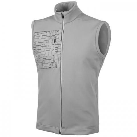 Galvin Green Denzel Insula Full Zip Bodywarmer Sharkskin