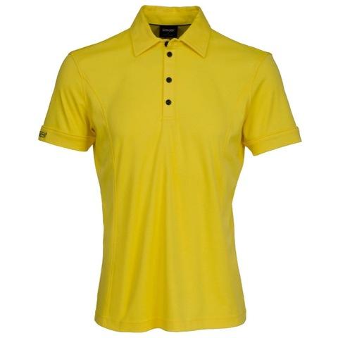 Galvin green mark tour edition polo shirt vibrant yellow for Yellow golf polo shirts