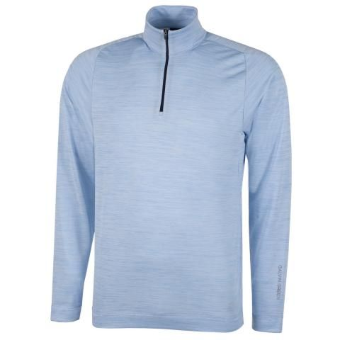 Galvin Green Dixon Insula Half Zip Sweater Blue Bell