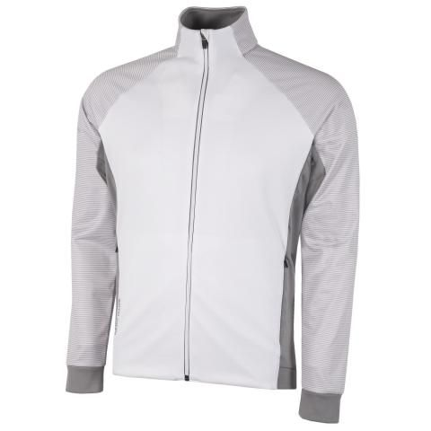 Galvin Green Dominic Insula Jacket White/Sharkskin