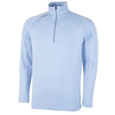 Galvin Green Drake Insula Half Zip Sweater Blue Bell