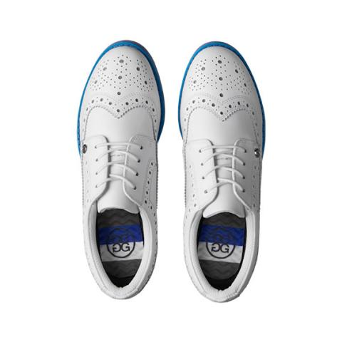 G Fore Brogue Kiltie Gallivanter Ladies Golf Shoes Lapis